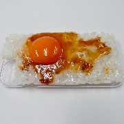 Raw Egg & Rice iPhone 8 Case - Fake Food Japan