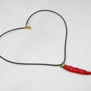 Red Chili Pepper (mini) Necklace - Fake Food Japan