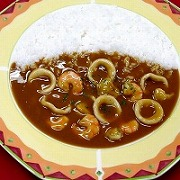 Seafood Curry & Rice Replica - Fake Food Japan