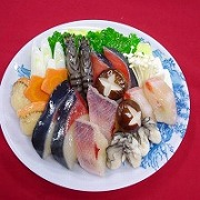 Seafood Nabe (Hotpot) with Assorted Vegetables Replica