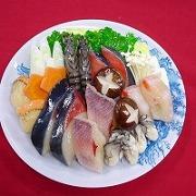 魚ちり 食品サンプル