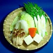 しゃぶしゃぶ野菜盛 2 食品サンプル