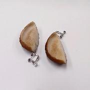 Shiitake Mushroom Clip-On Earrings - Fake Food Japan