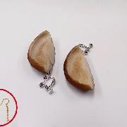 Shiitake Mushroom Pierced Earrings - Fake Food Japan