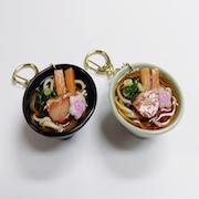 Shoyu (Soy Sauce) Ramen Keychain - Fake Food Japan