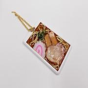 Shoyu (Soy Sauce) Ramen Pass Case with Charm Bracelet - Fake Food Japan
