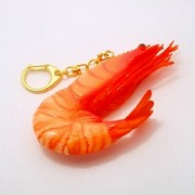 Whole Shrimp Keychain - Fake Food Japan