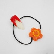 Sliced Apple (small) & Flower-Shaped Carrot Ver. 1 (mini) Hair Band - Fake Food Japan