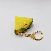 Sliced Pineapple Keychain - Fake Food Japan