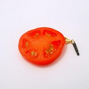 Sliced Tomato Headphone Jack Plug - Fake Food Japan