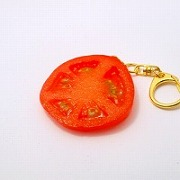 Sliced Tomato Keychain - Fake Food Japan