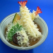 Soba Noodles with Tempura Ver. 1 Replica - Fake Food Japan