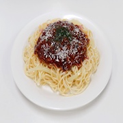 Spaghetti with Meat Sauce Replica - Fake Food Japan
