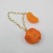 Spoiled Orange & Orange Bag Charm - Fake Food Japan