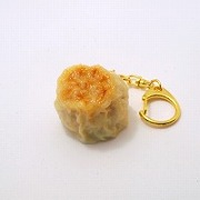 Steamed Pork Dumpling (small) Keychain - Fake Food Japan