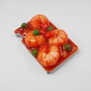 Stir-Fried Shrimp with Chili Sauce Mintia Case - Fake Food Japan