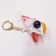 Strawberry Parfait (mini) Keychain - Fake Food Japan