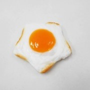 Sunny-Side Up Egg (Star) Magnet - Fake Food Japan