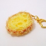 Sweet Potato Tempura Keychain - Fake Food Japan