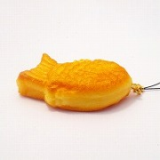 Taiyaki (new) Cell Phone Charm/Zipper Pull - Fake Food Japan