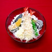 Ten-don (Rice Bowl with Tempura) Replica - Fake Food Japan