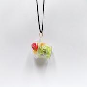 Tossed Salad (mini) Necklace - Fake Food Japan
