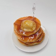 Tower of Pancakes with Butter & Maple Syrup Small Size Replica - Fake Food Japan
