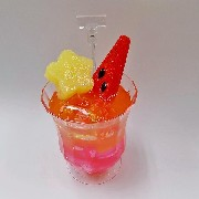 Tropical Punch with Watermelon Small Size Replica - Fake Food Japan