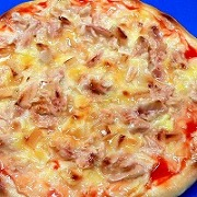 Tuna & Mayonnaise Pizza Replica - Fake Food Japan