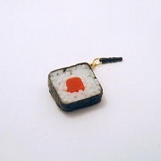 Tuna Roll Sushi Headphone Jack Plug - Fake Food Japan
