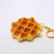 Waffle Keychain - Fake Food Japan