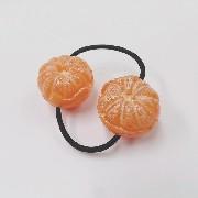 Whole Orange (small) Hair Band (Pair Set) - Fake Food Japan