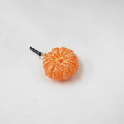 Whole Peeled Orange (small) Headphone Jack Plug - Fake Food Japan