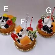 Assorted Fruit Tart Small Size Replica - Fake Food Japan