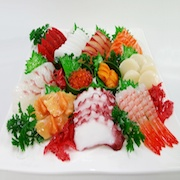 Assorted Sashimi (Raw Fish) Replica - Fake Food Japan