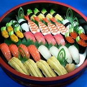 Assorted Sushi for 4 Replica - Fake Food Japan