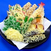 Assorted Tempura Ver. 1 Replica - Fake Food Japan