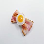 Bacon & Egg (large) Hair Clip - Fake Food Japan