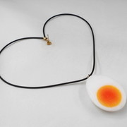 Boiled Egg Necklace - Fake Food Japan
