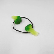 Broccoli (small) Hair Band (Pair Set) - Fake Food Japan