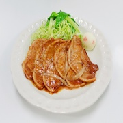Buta Shoga Yaki (Grilled Ginger Flavored Pork) Replica - Fake Food Japan