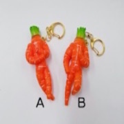 Carrot Ver. 1 (A) Keychain - Fake Food Japan