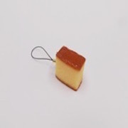 Castella (mini) Cell Phone Charm/Zipper Pull - Fake Food Japan