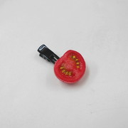 Cherry Tomato (half-size) Hair Clip - Fake Food Japan