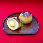 Chestnut Filled Manju (Japanese-Style Bun) Replica - Fake Food Japan
