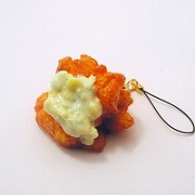 Chicken Nanban (Southern Fried Chicken with Vinegar & Tartar Sauce) Cell Phone Charm/Zipper Pull - Fake Food Japan