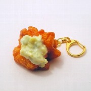 Chicken Nanban (Southern Fried Chicken with Vinegar & Tartar Sauce) Keychain - Fake Food Japan
