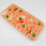 Chicken Rice with Shrimp iPhone 8 Plus Case - Fake Food Japan