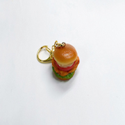 Chicken & Tomato Burger Keychain - Fake Food Japan