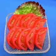 Chilled Sliced Tomato Replica - Fake Food Japan